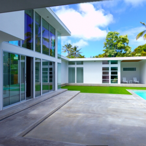 Portlock house by architect Jim Schmit, Honolulu Hawaii